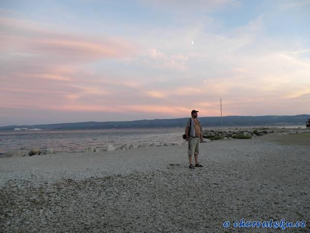 Omiš - pláž